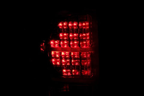 Anzo LED Tail Lights - Red/Clear 311181 ANZO311181