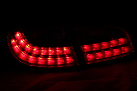 Anzo LED Tail Lights - Red/Clear 311198 ANZO311198