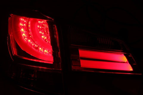 Anzo LED Tail Lights - Red/Clear 311211 ANZO311211