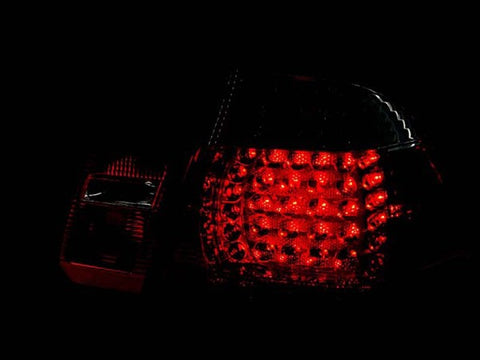Anzo LED Tail Lights - Red/Clear 321004 ANZO321004