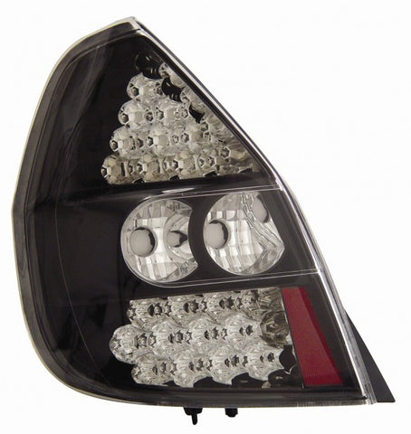 Anzo LED Tail Lights - Black 321043 ANZO321043