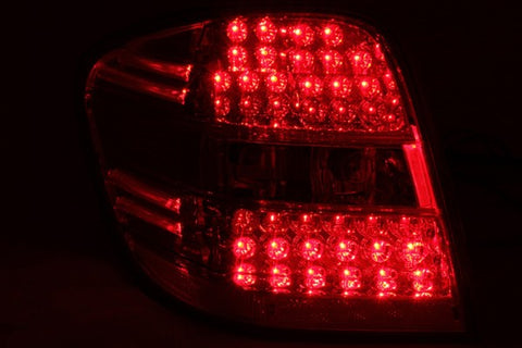 Anzo LED Tail Lights - Red/Clear 321053 ANZO321053