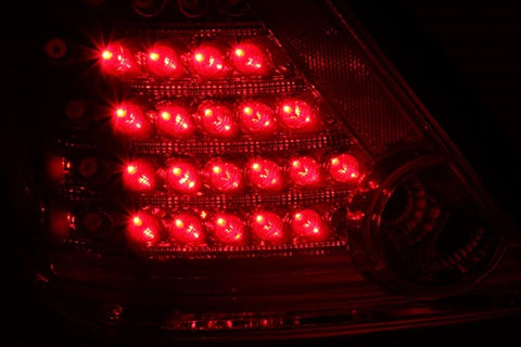 Anzo LED Tail Lights - Red/Clear 321060 ANZO321060
