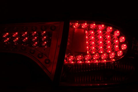 Anzo LED Tail Lights - Red/Clear 321077 ANZO321077