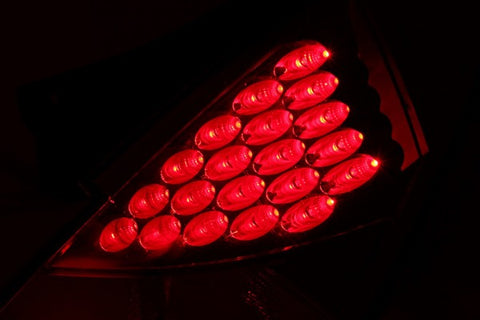Anzo LED Tail Lights - Red 321083 ANZO321083