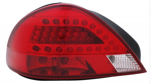 Anzo LED Tail Lights - Red/Clear 321093 ANZO321093