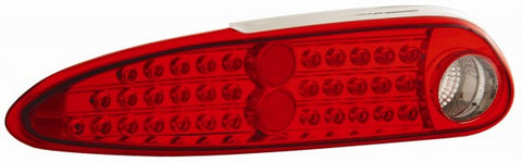 Anzo LED Tail Lights - Red/Clear 321094 ANZO321094