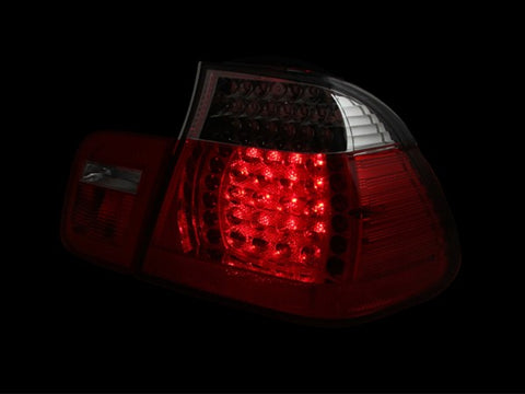 Anzo LED Tail Lights - Red/Clear 321096 ANZO321096