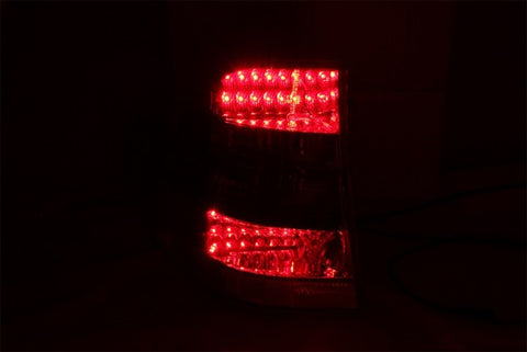 Anzo LED Tail Lights - Red/Smoke 321117 ANZO321117
