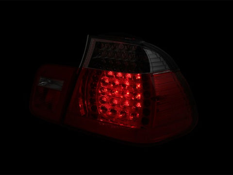 Anzo LED Tail Lights - Red/Smoke 321123 ANZO321123