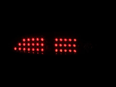 Anzo LED Tail Lights - Black 321133 ANZO321133