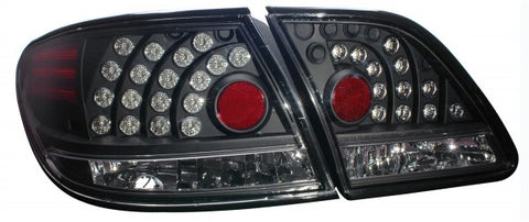 Anzo LED Tail Lights - Black 321139 ANZO321139