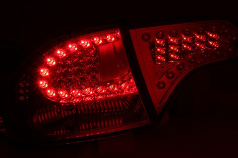 Anzo LED Tail Lights - Chrome 321151 ANZO321151