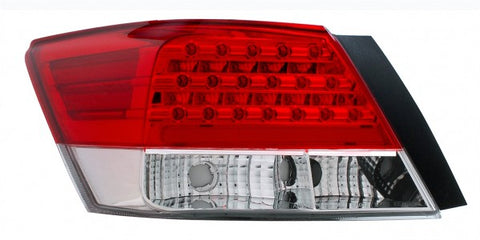 Anzo LED Tail Lights - Red/Clear 321175 ANZO321175
