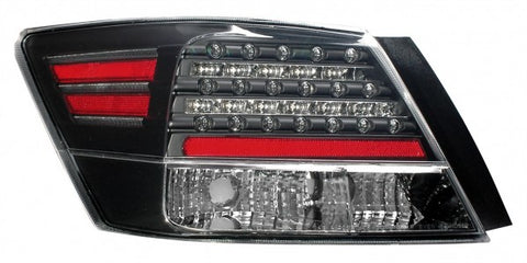 Anzo LED Tail Lights - Black 321176 ANZO321176