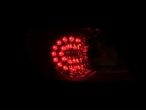Anzo LED Tail Lights - Red/Clear 321179 ANZO321179