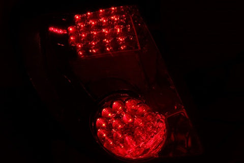Anzo LED Tail Lights - Red/Clear 321198 ANZO321198