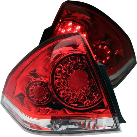 Anzo LED Tail Lights - Red/Clear 321206 ANZO321206