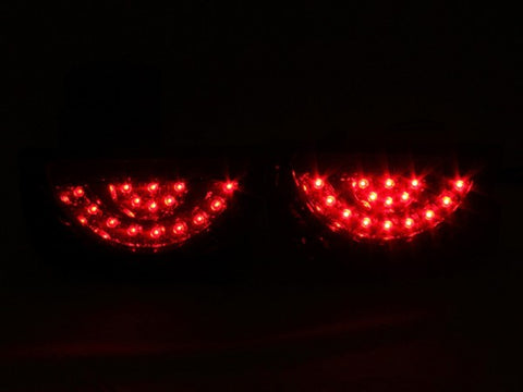 Anzo LED Tail Lights - Red/Clear 321208 ANZO321208