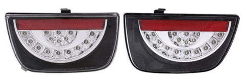 Anzo LED Tail Lights - Black 321209 ANZO321209