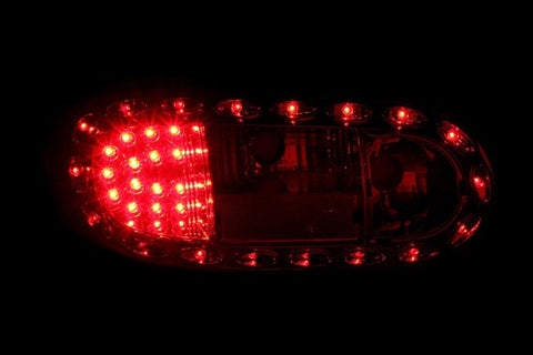 Anzo LED Tail Lights - Chrome 321211 ANZO321211