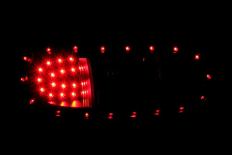 Anzo LED Tail Lights - Black 321212 ANZO321212