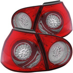 Anzo LED Tail Lights - Red/Smoke 321217 ANZO321217