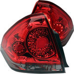 Anzo LED Tail Lights - Red/Smoke 321224 ANZO321224