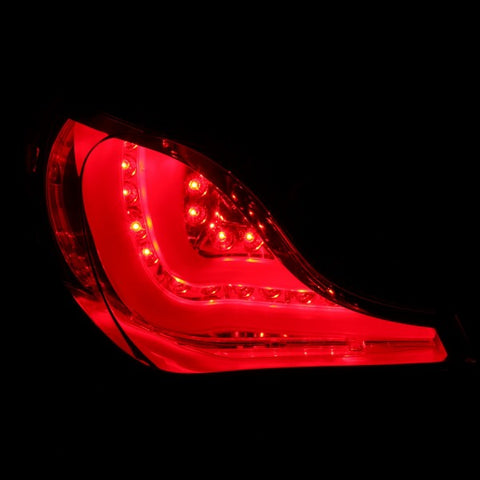 Anzo LED Tail Lights - Black 321293 ANZO321293