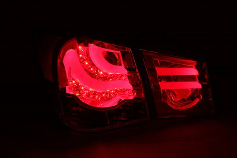 Anzo LED Tail Lights - Red/Clear 321299 ANZO321299