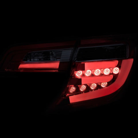 Anzo LED Tail Lights - Red/Clear 321314 ANZO321314