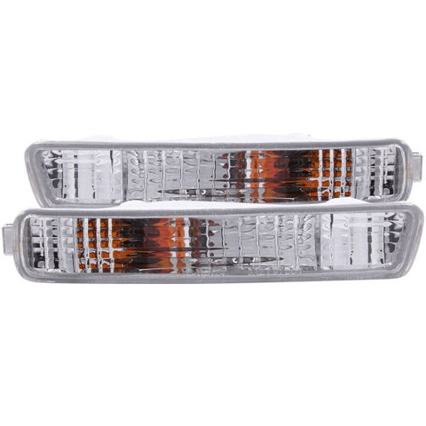 Anzo Bumper Lights - Chrome w/ Amber Reflector 511008 ANZO511008