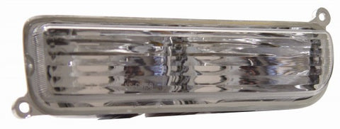 Anzo Bumper Lights - Chrome w/ Amber Reflector 511014 ANZO511014