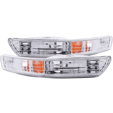 Anzo Bumper Lights - Chrome w/ Amber Reflector 511021 ANZO511021