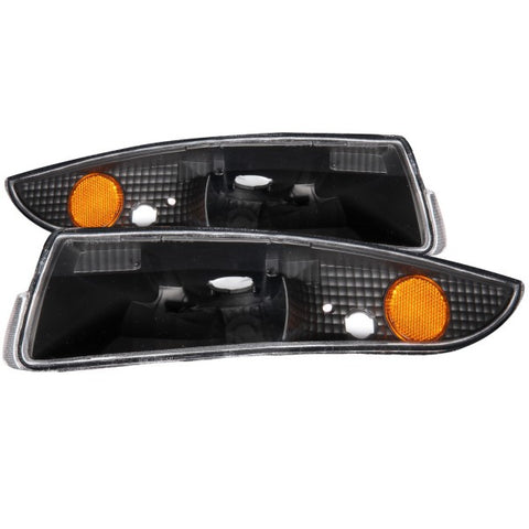 Anzo Bumper Lights - Black 511045 ANZO511045