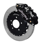 Wilwood BMW Z3 Forged Narrow Superlite 6R Front Big Brake Kit (Hat) Black Calipers Slotted Rotors