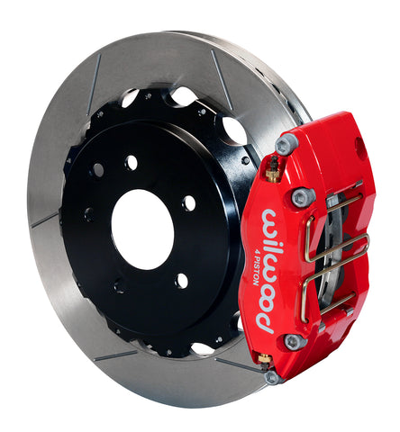"Wilwood 12.88"" Dynapro Radial Rear Brake Kit For OE Parking Brake"