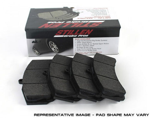 STILLEN Metal Matrix Brake Pads - Front (Standard - Non-Akebono Calipers) D1287M