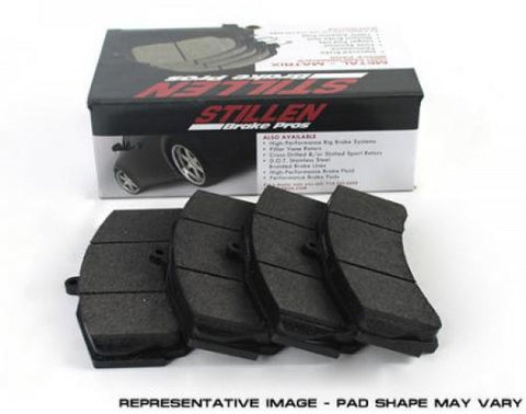 STILLEN 2004-2007 BMW 525i Metal Matrix Brake Pads - Front D612M