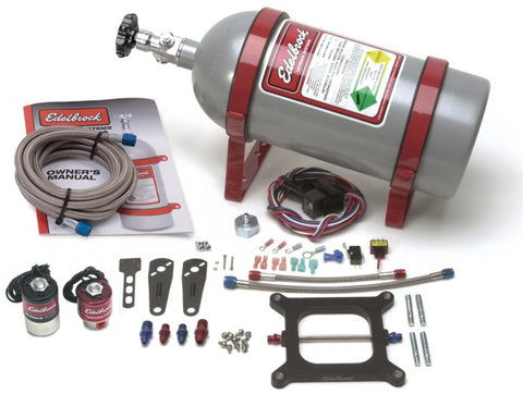 Edelbrock Performer RPM II Single-Stage Plate System Nitrous Oxide Injection Sys