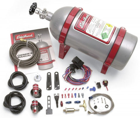 Edelbrock Performer EFI Wet System Nitrous Oxide Injection System Kit 71001 EDE7