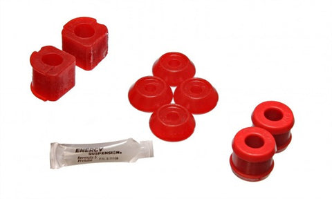 Energy Suspension Front Sway-Bar Bushings Kit & End Links - Red 15.5102R ENE15.5