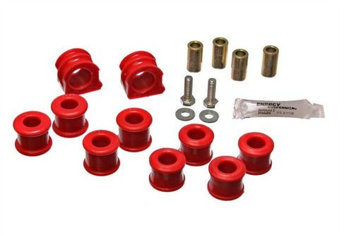 Energy Suspension Front Sway-Bar Bushings Kit & End Links - Red 15.5106R ENE15.5