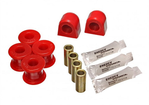 Energy Suspension Rear Sway-Bar Bushings - Red 19.5104R ENE19.5104R