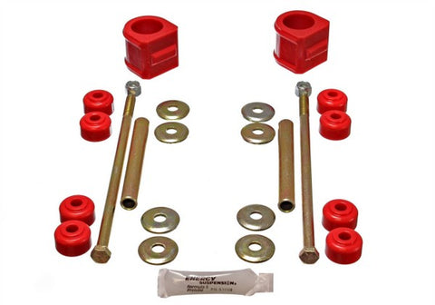 Energy Suspension Front Sway-Bar Bushings Kit and End Links - Red 3.5136R ENE3.5