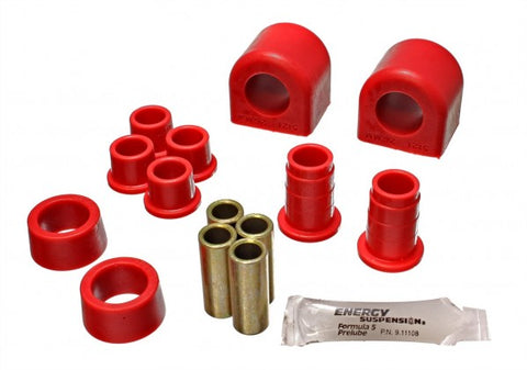 Energy Suspension Front Sway-Bar Bushings - Red 3.5138R ENE3.5138R