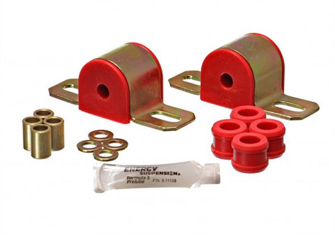 Energy Suspension Rear Sway-Bar Bushings Kit and End Links - Red 3.5153R ENE3.51