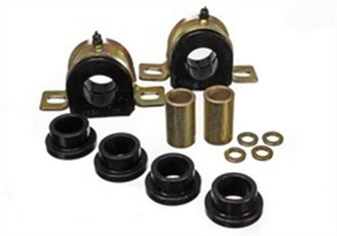 Energy Suspension Front Sway Bar End Link Bushings & Frame Bushings - Black 3.51