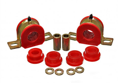 Energy Suspension Rear Sway-Bar Bushings Kit and End Links - Red 3.5215R ENE3.52
