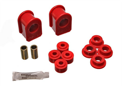 Energy Suspension Front Sway Bar Bushing Kit - Red 4.5102R ENE4.5102R